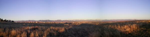 Broomfield Colorado Mountain Views