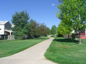 Walking Path in Broomfield Colorado
