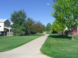 Walking Path in Broomfield Colorado
