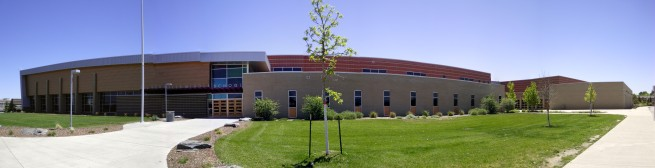 Denver Area Broomfield School Panoramic