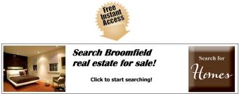 Broomfield Real Estate Available